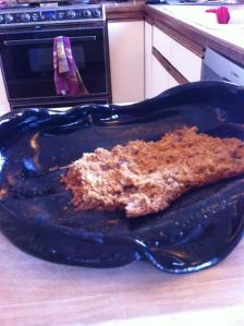 Obviously, this banana bread turned out to be toxic..
