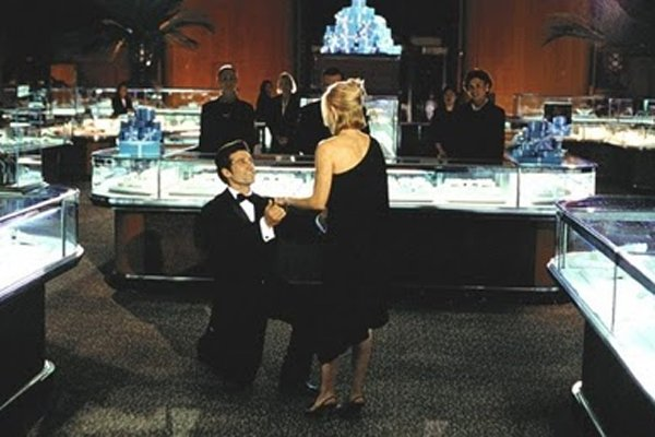 Ok, he didn't propose and we weren't in Tiffanys but it was extremely similar.