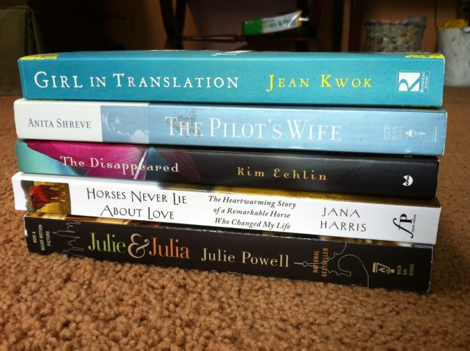 My current book list for the summer.