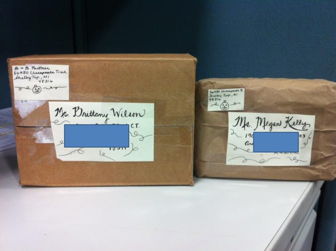 Pen pal packages!