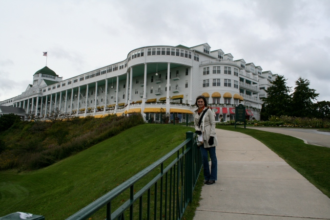 This pic was taken 2 years ago, prior to Mr. Speedy. But LOOK AT THE HOTEL.