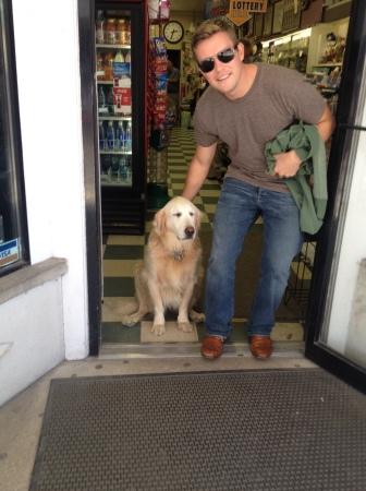 Mr. Speedy loved this dog.