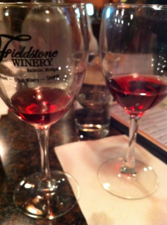 Wineee with friends!