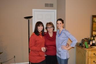The three ladies.
