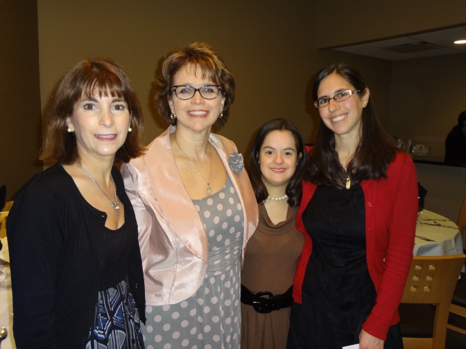 My God mother, mother, cousin Bridget, and Allison