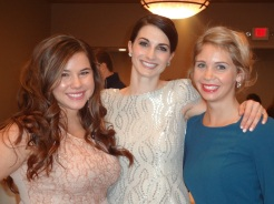 Evan, I, and Pam!!! Love these ladies!