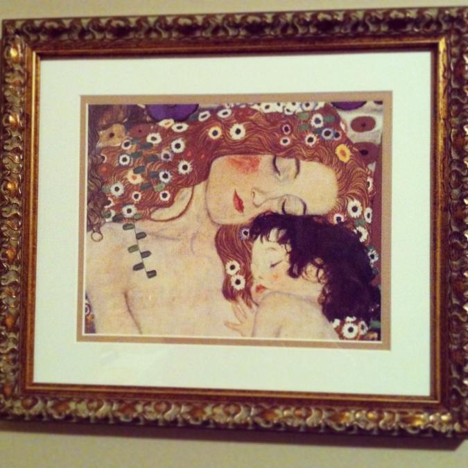 Gustav Klimt is one of my favorites.
