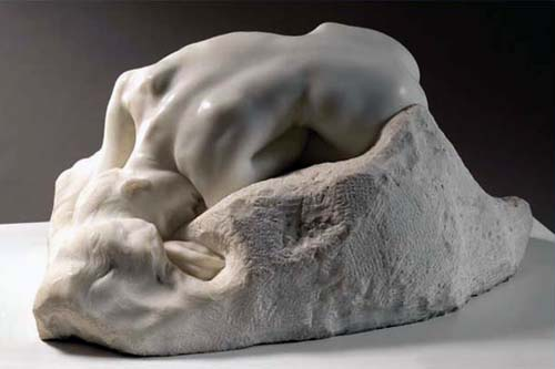 Rodin's Danaid