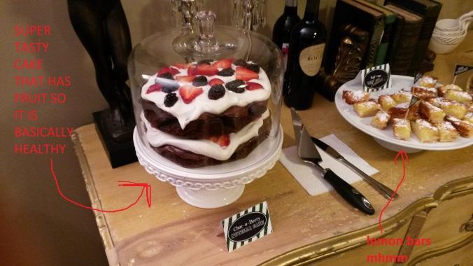 This cake was zeeee best.