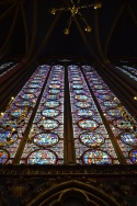 Saint chapelle stainglass