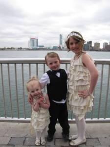 These kids were the best. I am so happy they were a part of the wedding.