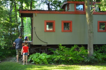 The caboose aka coolest playground