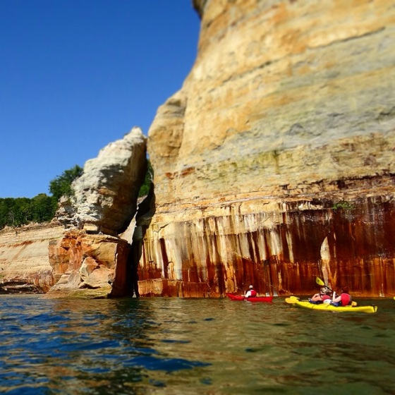 Pictured Rocks!